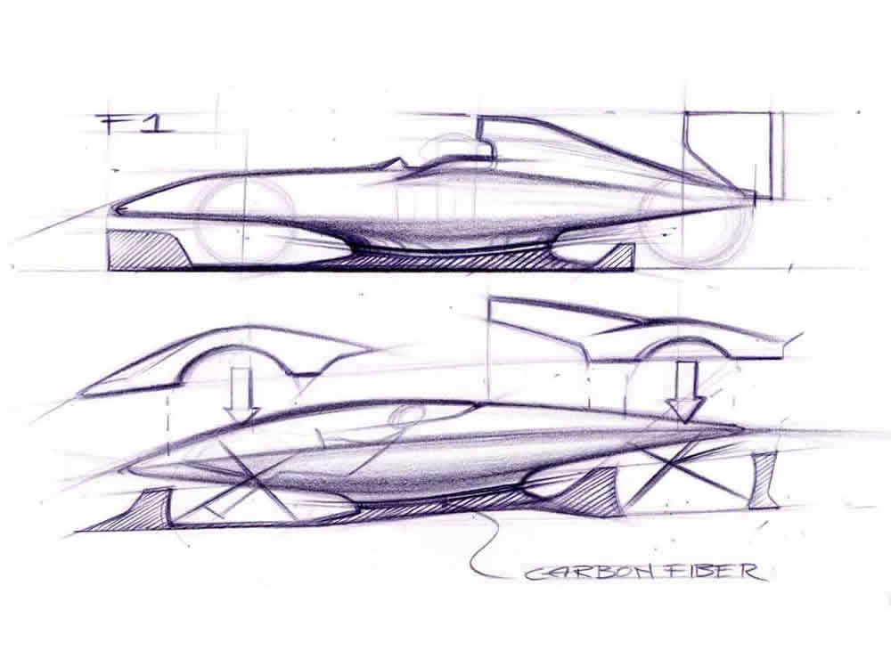 Laferrari_exterior_sketch2