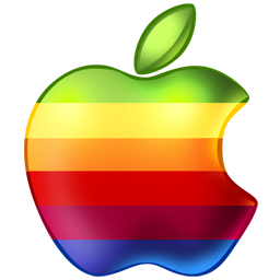 Apple-Rainbow-icon