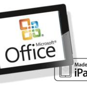 OFFICE per iPAD a novembre